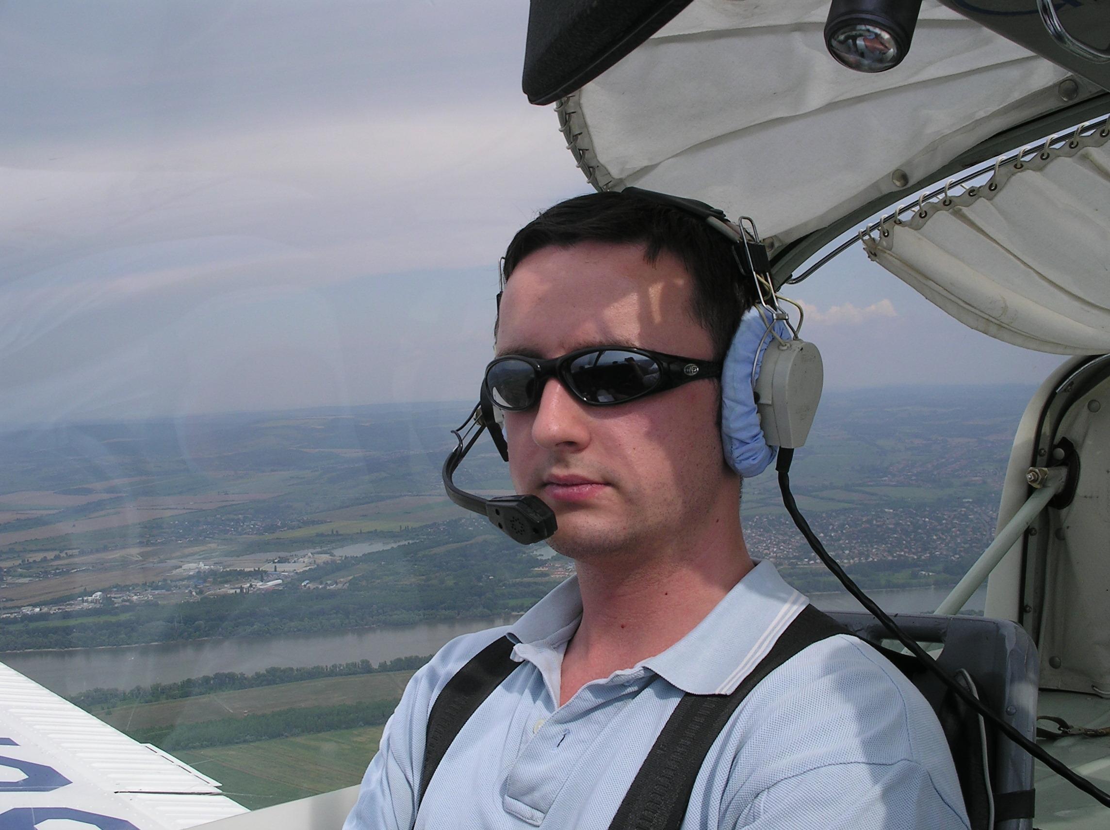 Co-pilot, airborne
